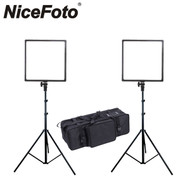 Nicefoto SL-500A Video LED Lighting Kit 3200-5500K (2 Lights)
