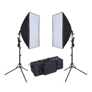 Fotolux 2x E27 Daylight 5500K LED Lighting Kit ( 2 Lights)