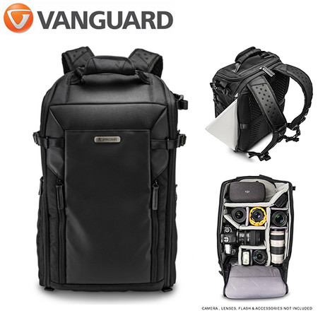 Vanguard VEO Select 48 BF BK Front Opening Backpack (Black , V248486)
