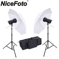 Nicefoto HC-1000BII Twin 100W LED Video Lighting Kit (2 Lights)