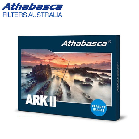 Athabasca ARKII 100 x 150mm GND32 (1.5) Soft Graduated Neutral Density Square Filter (German Schott optical glass)