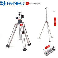 Benro TA1 Phoneographer Aluminium Tripod with Remote & Phone Clip (Max Load 3kg)