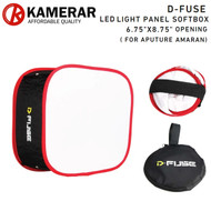 "Kamerar DF-1A D-Fuse 6.75"" x 8.75"" Collapsible LED Light Panel Softbox for Aputure Amaran (17 x 22cm)"