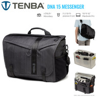 Tenba DNA15 Camera Messenger Bag (Graphite + Black)