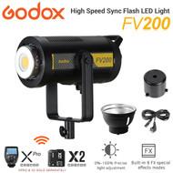 Godox FV200 200W Hybrid High Speed Sync Flash LED Light - AC Power (Daylight 5600K)