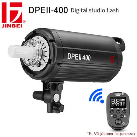 Jinbei DPEII-400 400Ws Digital Studio Flash ( 5500K , Built-in 2.4GHz Wireless Receiver)