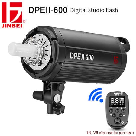 Jinbei DPEII-600 600Ws Digital Studio Flash ( 5500K , Built-in 2.4GHz Wireless Receiver)