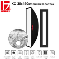 Jinbei KC Series 35 x 150 cm / 8 x 135 cm Umbrella Strip Softbox (Bowens Mount)