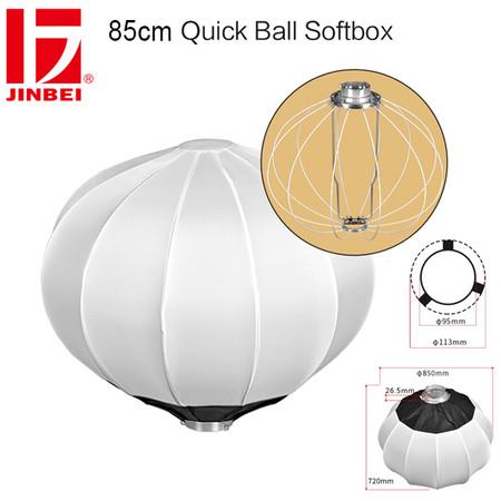 Jinbei 85cm Diffuser Ball Quick Ball Softbox (Bowens Mount)