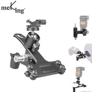 Meking M11-063A Metal Clamp with Ball Head & Hot Shoe Mount