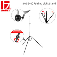 Jinbei MG-2400 Folding Light Stand (Max Load 4.5 kg , Inverted Folding Feet)