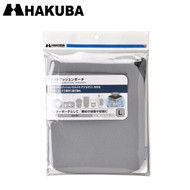 Hakuba KCS-36L Soft Cushion Pouch L (Grey , 170 x 190mm)