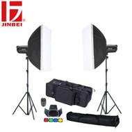 Jinbei 2 x DPEII-600 Flash Lighting Kit