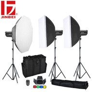 Jinbei 2 x DPEII-600 + 1 x DPEII-400 Flash Lighting Kit