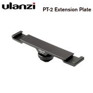 Ulanzi PT-2 Dual Cold Shoe Mount Extension Plate