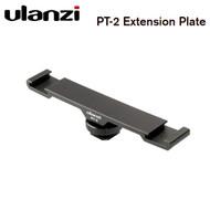 Ulanzi PT-2 Dual Cold Shoe Mount Extension Plate