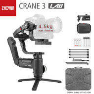 Zhiyun CRANE 3 LAB 3-Axis Gimbal Camera Redefine Stabiliser (Max. Payload: 4.5 kg)