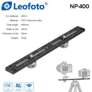 Leofoto NP-400 400mm Long Multi Purpose Rail Quick Release Plate (Arca swiss)