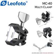 Leofoto MC-40 Multi Purpose Super Clamp for Tripod & Magic Arm (Max Load. 3kg)