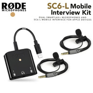 Rode SC6-L Mobile Interview Kit with Lightning Interface & 2 smartLav+ Microphones