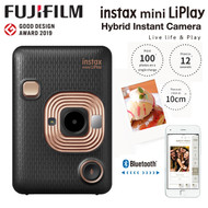Fujifilm Instax Mini LiPlay Instant Camera (Elegant Black) 87098