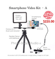 Smartphone / iPhone Vlogger Kit for Youtube , board-casting , Conferencing