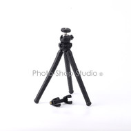Fancier Flexible Octopus Tripod with Ballhead & Phone Holder Kit for Gopro/ Smartphone/compact camera