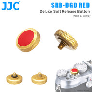 JC SRB-DGD RED Deluxe Soft Release Button (Red & Gold)