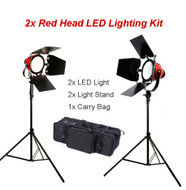 Fotolux  2x / 3x  FL-007 Red Head LED Lighting Kit