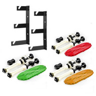 Fotolux Background Paper Support Rack 3-Hook Set And Expand Kit