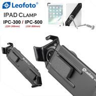 Leofoto iPad Clamp [IPC-300 / IPC-500]  (Max Load 2 kg)