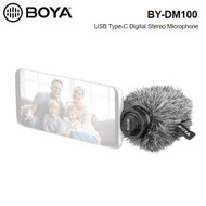BOYA BY-DM100 Digital Stereo Microphone for Android devices (USB Type-C connector)