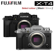 Fujifilm X-T4 Mirrorless Digital Camera Body Only [Black / Silver]