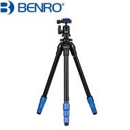 Benro TSL08AN00 Aluminum Slim Tripod Kit (Max Load 4 kg , Twist lock)