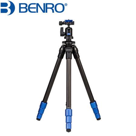 Benro TSL08CN00 Carbon Fiber Slim Tripod with Ball Head