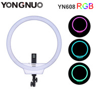 Yongnuo YN608 RGB LED Ring Light (3200K - 5500K)