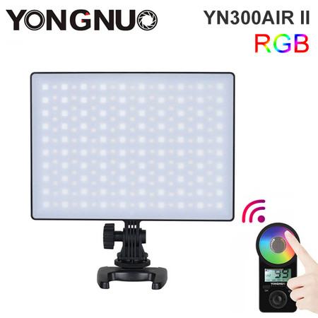 Yongnuo YN300Air II Pro Video LED Light (3200K - 5500K / RGB Full Colour)
