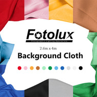 Fotolux 2.6m x 4m Background  Muslin Cloth