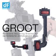 DigitalFoto GROOT Rotatable Mounting Bracket with Phone Clamp