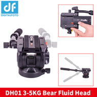 DigitalFoto DH01 Professional Video Fluid Head (Max Load 5 kg)