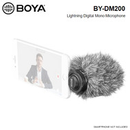 BOYA BY-DM200 Digital Mono Condenser Microphone for iOS devices (Lightning connector)