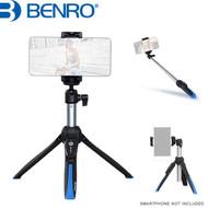 Benro MK10P Premium Mini Tripod & Selfie Stick for Smartphone , GoPro