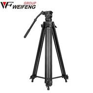 Weifeng WF-718 1.8m Video Tripod with Fluid Head