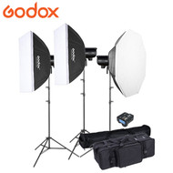Godox  3x DP400III / DP600III Studio Flash Kit  (3 Flash Kit)