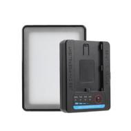 Fotolux 5W Pocket RGB LED Light for Canon LP-E6 Battery ( USB Power input)