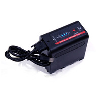 Fotolux NP-F980 7.4V 8700mAh 64.4Wh Rechargeable Lithium-Ion Battery with USB Cable