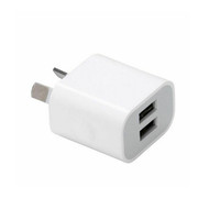 Fotolux AC-DC Dual interface USB Wall Charger 5V 2.0A for LED Lights , Phone , iPad