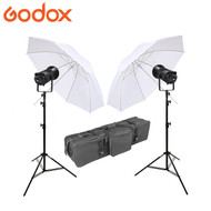 Godox SL200II LED Light Kit (2 Flash Kit)