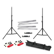 Fotolux FOTBGKIT2+AH Background Support with Alum Hollow Tube Kit for 2 Paper Rolls