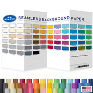 Savage 1.35m x 11m Seamless Background Paper Roll (Half-width , Made in USA)